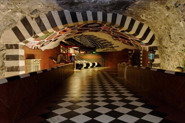 tunelbana stockholm