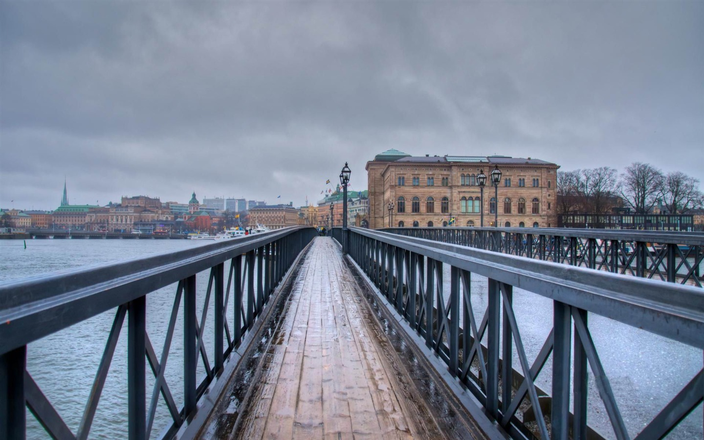 Urban_Bridges-Stockholm_Sweden_landscape_photography_HD_wallpaper_1440x900